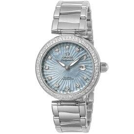 オメガ OMEGA 腕時計 デ・ヴィルレディマティック レディース 時計 デ・ビル コーアクシャル自動巻 ブルー 425.35.34.20.57.002