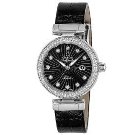 オメガ OMEGA 腕時計 デ・ヴィル レディマティック レディース 時計 デビル 自動巻 ブラック 425.38.34.20.51.001