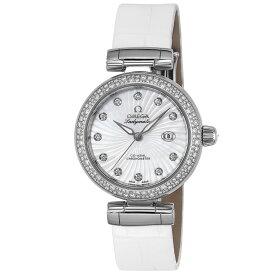 オメガ OMEGA 腕時計 デ・ヴィル レディマティック レディース 時計 デビル 自動巻 ホワイト 425.38.34.20.55.001