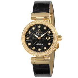 オメガ OMEGA 腕時計 デ・ヴィル レディース 時計 デビル コーアクシャル自動巻 ブラック 425.68.34.20.51.002