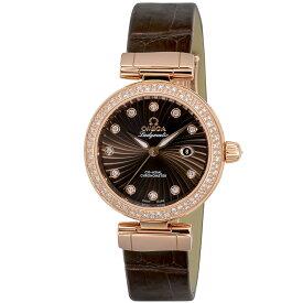 オメガ OMEGA 腕時計 デ・ヴィルレディマティック レディース 時計 デ・ビル コーアクシャル自動巻 ブラウン 425.68.34.20.63.002