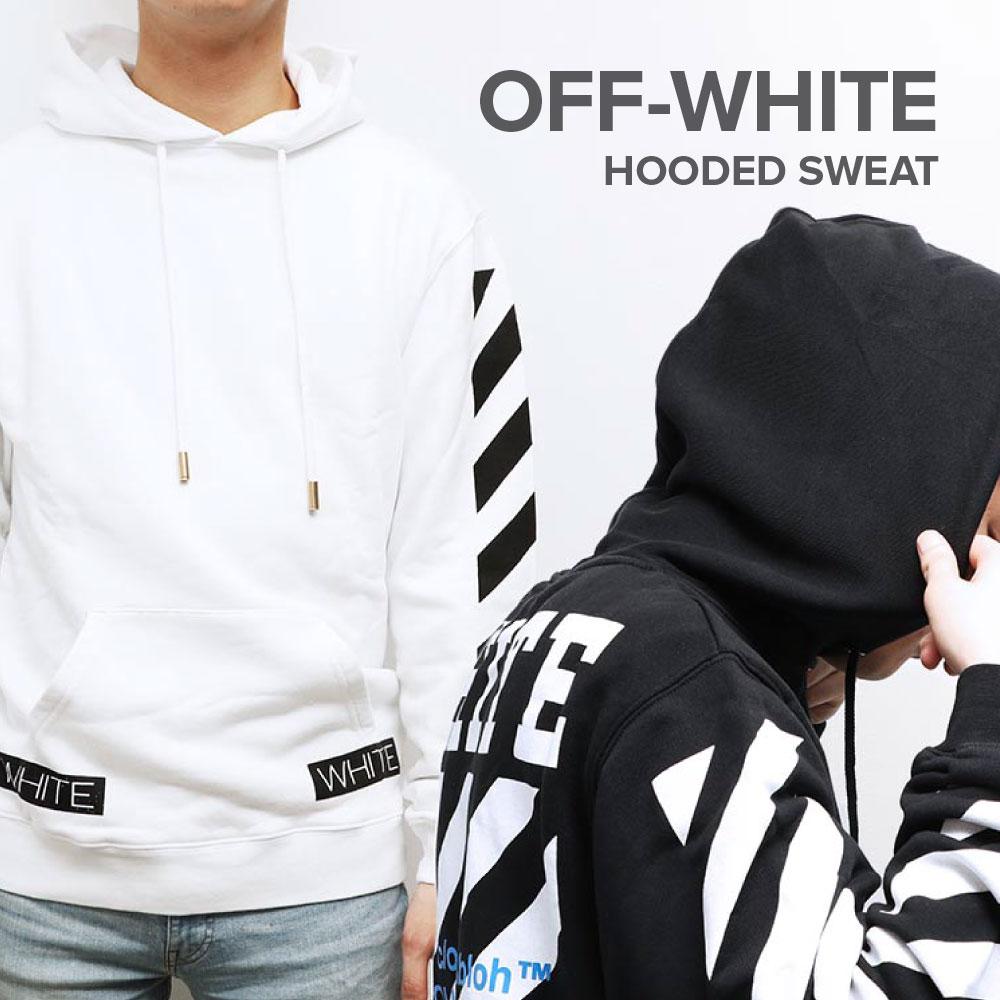 業界最安挑戦! Off-White オフホワイト off white OMBB003S160030020134 OMBB003S160030021034 パーカー メンズ トップス ストリート ブラック 黒 ホワイト 白 ボックスロゴ ヴァージル アブロー