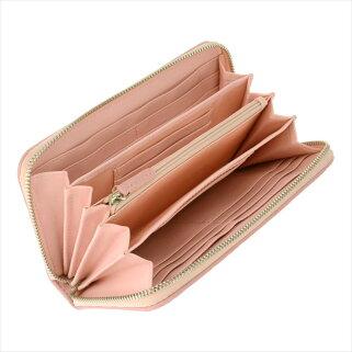 ギオネGUIONNETレディース財布長財布OEM-PG101-LPK極上の本革ラムレザーで仕上げた贅沢仕様。圧倒的な収納力を誇るイントレチャート長財布【ブランド】ウォレットさいふサイフ