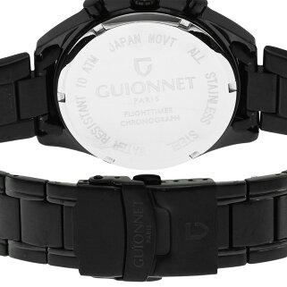 ギオネGUIONNETフライトタイマータキメータークロノグラフメンズ時計腕時計PG-FC42BBOを極めるレーシングクロノグラフ。この高級感、まさにエレガントスポーティーの頂点【ブランド】とけいウォッチ