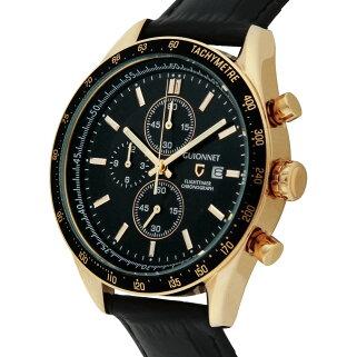 ギオネGUIONNETフライトタイマータキメータークロノグラフメンズ時計腕時計PG-FC42PBKBKを極めるレーシングクロノグラフ。この高級感、まさにエレガントスポーティーの頂点【ブランド】とけいウォッチ