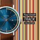 【 ポールスミス Paul Smith TRACK メンズ 時計 腕時計 PS0070008 PS0070009 ブラック ネイビー 日付 とけい ウォッチ…