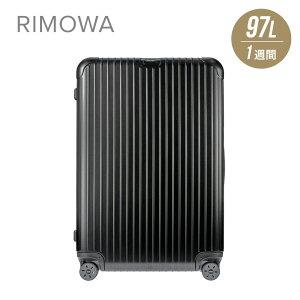 リモワ RIMOWA SALSA スーツケース 97L キャリーバッグ キャリーケース サルサ 811.77.32.5 ポリカーボネート 電子タグ e-tag ブラック マット 1週間 4輪