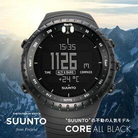 スント SUUNTO core メンズ 時計 腕時計 クォーツ ブラック 49mm SS014279010