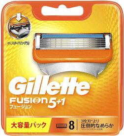 Gillette ジレット フュージョン 8個入り
