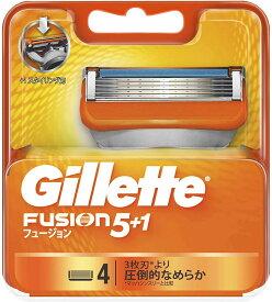 Gillette ジレット フュージョン 4個入り