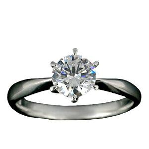 『Pt900空枠』婚約指輪用空枠ティファニー爪タイプ0.7ct ダイヤモンド用 Pt900