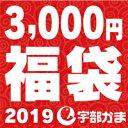 【送料無料】宇部かま●2019新春福袋♪3,000円コース