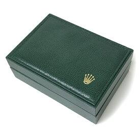 ロレックス ROLEX 腕時計用 収納ケース メンズ 空き箱 BOX 箱 保存箱 外箱 内箱 緑 グリーン 男性 ブランド 【中古】 【美品】