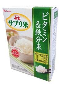 ハウスウェルネスフーズ新玄 サプリ米 (ビタミン・鉄分)50g(25gx2袋)