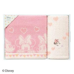 タオルセット UCHINO ディズニー Disney ミッキーアンリミテッド ルックアットミー ギフトセット バスタオル×1枚 フェイスタオル×1枚 かわいい 可愛い おしゃれ ウチノタオル 【内野タオル】