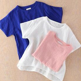 シャツ Tシャツ UCHINO マシュマロガーゼ レディース タックTシャツ シャツ 爽やか 部屋着 綿100% トップス 【内野タオル】 ギフト 贈り物 プレゼント 送料無料 母の日 実用的