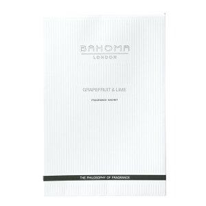 (SALE) BAHOMA(バフォーマ)サシェNグレープフルーツ&ライム ギフト対応 【内野タオル】