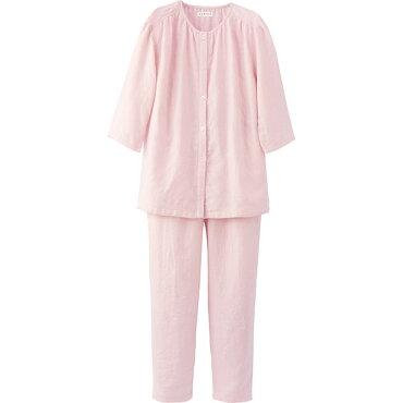 【送料無料】(内野)UCHINOマシュマロガーゼレディスノーカラーパジャマ【快眠パジャマ】