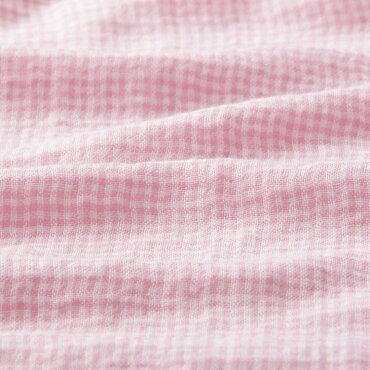 【送料無料】(内野)UCHINOマシュマロガーゼギンガムチェックレディスパジャマ【快眠パジャマ】敬老の日
