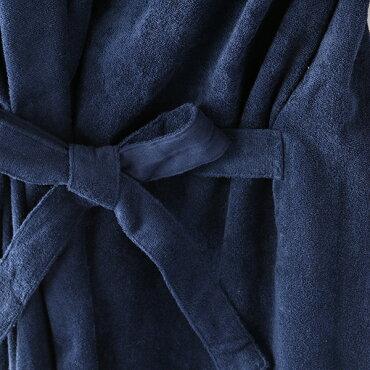 さっと羽織れるレディスローブレディース綿100%バスローブウチノUCHINOウチノタオル【内野タオル】送料無料ギフト対応贈り物プレゼント自分用