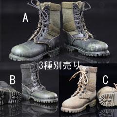 【PLAYTOY】PC005 Combat Boots 1/6スケール コンバットブーツ