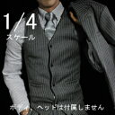 【ASMUS TOYS】SM30 Boss Suit 1/4スケール 男性用ビジネススーツセット