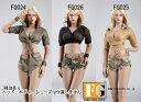 【FireGirlToys】FG024 FG025 FG026 Cool camouflage suit 1/6スケール 女性コスチューム