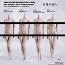 【TBLeague】female seamless body PALE series not head S01A S04B S07C S10D TBリーグ 1/...