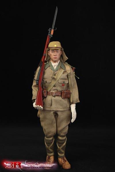 【3R】JP638 WW2 大日本帝国陸軍第32軍第24師団 二等兵 林拓也 1/6スケールフィギュア