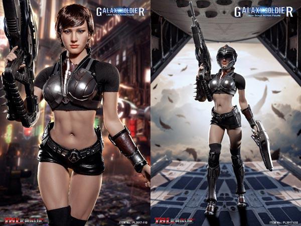 【TBLeague】PL2017-110 1/6 Galaxy Soldier 銀河女戦士 1/6スケール シームレス女性ボディフィギュア