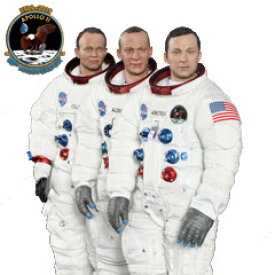 【DID】NA001, NA002, NA003 Armstrong+Aldrin+Collin アポロ11号 宇宙飛行士 アームストロング コリンズ オルドリン 3体セット 1/6スケールフィギュア《予約12月》