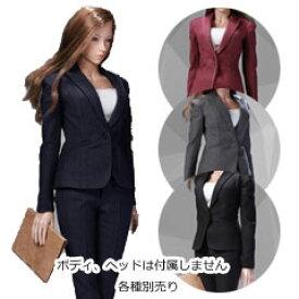 【POPtoys】X30 COSTUME Office Lady - Female suit Pants Ver. 1/6スケール 女性ビジネススーツセット パンツVer.