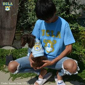 送料無料 UCLA Tシャツ UCLA-0376 6.2ozヘビーウエイト オープンエンドTシャツ
