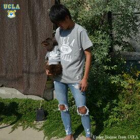 送料無料 UCLA Tシャツ UCLA-0374 6.2ozヘビーウエイト オープンエンドTシャツ