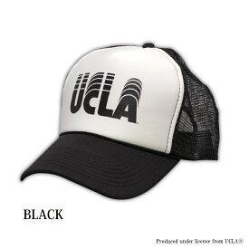 送料無料 UCLA(ユーシーエルエー) キャップ メッシュキャップ ロゴメッシュキャップ カレッジ ロゴ BBCAP 帽子 フリーサイズ