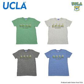 送料無料 UCLA半袖Tシャツ カレッジプリント アメカジの定番 VINTAGEヘザーTシャツ