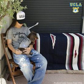 "UCLAトライブレンドTシャツ ""CALIFORNIA BRUINS BEAR"" MENS&DOG"