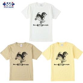 送料無料 360° SPORTSWEAR (スリーシックスティ スポーツウエア) Tシャツ メンズ レディース THSX-054 6.2oz ヘビーウエイト スケーター 犬 ドッグデザイン 西海岸 オープンエンドTシャツ アメカジ