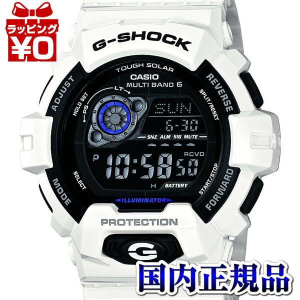 GW-8900A-7JF CASIO カシオ G-SHOCK 白 ジーショック gshock Gショック 電波 ソーラー g-ショック 送料無料 プレゼント アスレジャー