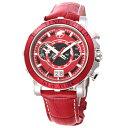 HW913RD 新品 ハンティングワールド HUNTING WORLD 時計 腕時計 メンズ イリス アナログ表記 クロノグラフ レッド 正…