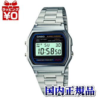 A158WA-1JF Casio standard men's watches for everyday life waterproof resin glass domestic genuine watch WATCH maker guaranteed sales type Christmas gifts fs3gm