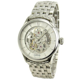 Sale kind present with the whole world / 73475914051M self-winding watch SW200 see-through back ORIS cages men watch watch watch WATCH maker guarantee