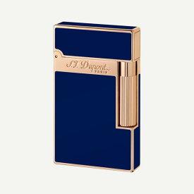 デュポン ライター ライン 2 ライター 純正漆 ブルー/16496 S.T.Dupont エス・テー・デュポン ライター 送料無料 プレゼント