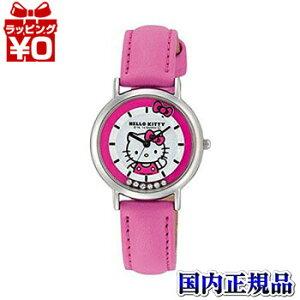 HK17-132CITIZENシチズンQ&QキューアンドキューHELLOKITTYハローキティキッズ対応レディース腕時計