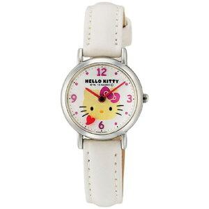 HK07-131CITIZENシチズンQ&QキューアンドキューHELLOKITTYハローキティキッズ対応レディース腕時計