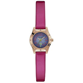 W0341L4 GUESS ゲス 腕時計 CUTESY キューテシー レディース 紫 パープル 紫文字盤 おしゃれ かわいい