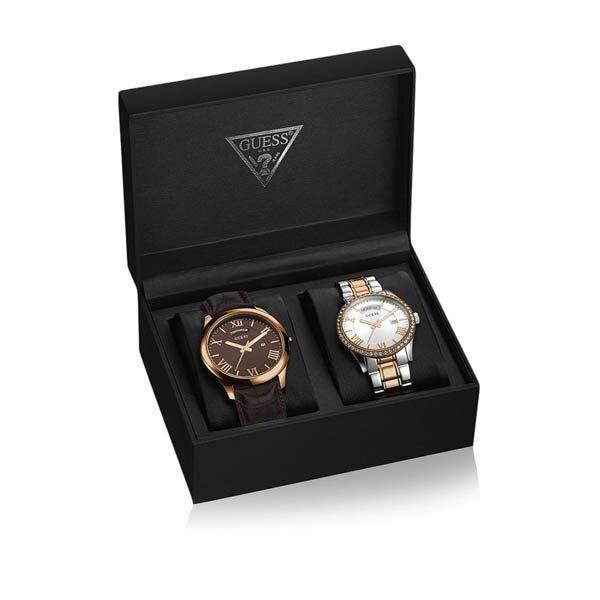 W0748P1 GUESS ゲス 腕時計 HEMISPHERE(BOX SET) ヘミスフィア メンズ プレゼント