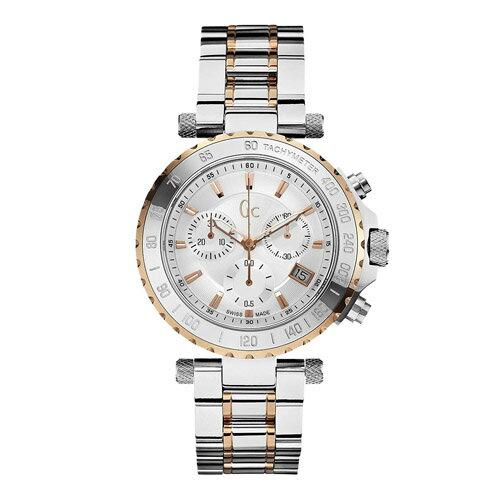 X58002G1S GC ジーシー ゲスコレクション Diver Chic Men ローズゴールドコンビ クロノグラフ カレンダー メタルバンド メンズ 腕時計 国内正規品 送料無料 プレゼント