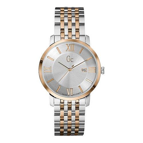 X60018G1S GC ジーシー ゲスコレクション Slim Class アナログ カレンダー メタルバンド ローズゴールドコンビ メンズ 腕時計 国内正規品 送料無料 プレゼント