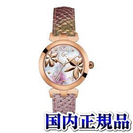Y22002L3 GC ジーシー ゲスコレクション Floral Dream パイソン柄型押しレザー アナログ レディース 腕時計 国内正規品 送料無料